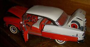 Danbury Mint 1955 Chevrolet Bel Air 1:16 scale diecast model