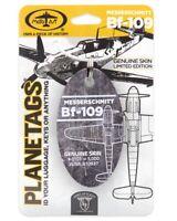 Metall Anhänger aus echter Messerschmitt BF-109 G-10/U4 / Planetags /  NEU