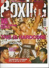 PRINCE NASEEN HAMED BOXING NEWS APRIL 1998 MAGAZINE NO LABEL