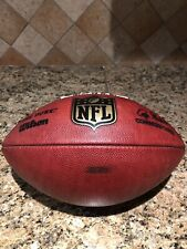 Official Wilson NFL The Duke On Field NY Jets Game Used Football
