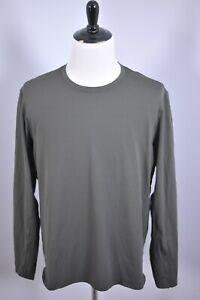 Lululemon Tech LS Shirt Olive Green Men's XL