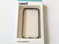 Genuine Case it Samsung Galaxy S4 i9500 i9505 Clear Black Bumper Case Cover