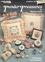 Counted Cross Stitch Patterns Tender Treasures 22 Projects By Leisure Arts