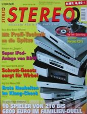Stereo 5/08 Rotel RCD 1072, Vincent CD S5, Nuline 122, Music Hall mmf 5.1, Atoll