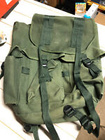 MILITARY STYLE VINTAGE ALICE LIKE PACK / RUCK SACK USED