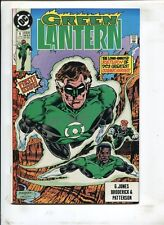 GREEN LANTERN #1 DOWN TO EARTH! (9.2) 1990 SIGNED BY MARTIN NODELL W COA