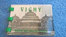 Ancien mini album 10 photo Vichy Reine des villes d'eaux Edi La Cigogne 1958