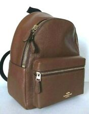 New Coach F28995 mini Charlie Pebble Leather small Backpack Saddle 2