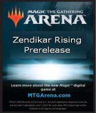 MTG Magic Arena Zendikar Rising 6x Booster Pack Code EMAIL ONLY