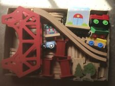 Brio Compatable Wooden Railway With Accessories