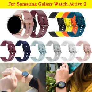 For Samsung Galaxy Watch Active 2 Replacement Silicone Sport Wrist Band Strap AU