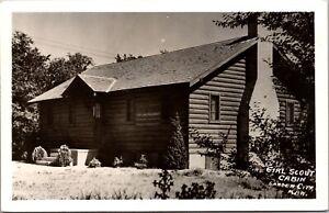 Real Photo Postcard Girl Scout Cabin in Garden City, Kansas~218