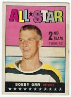 1967-68 Topps #128 Bobby Orr 2nd Team All Star   Auction