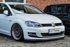 Spoilerschwert Frontspoilerlippe Cuplippe aus ABS für VW Golf 7 mit ABE