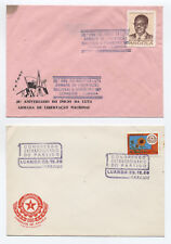 Three Angola first day covers  1980-1 [L.25]