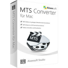 Aiseesoft MTS Converter MAC -lebenslange Lizenz Download