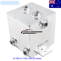 2L Universal Aluminum Radiator Complete Fuel Surge Tank/Can Melbourne