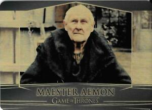 Game of Thrones : Valarian Steel  gold parallel base #67 (055/100) Maester Aemon