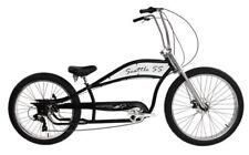 """Micargi Seattle 7 Speed w 29"""" x 3.0 Front & 26"""" x 3.0 Rear Fat Tire Bike Black"""
