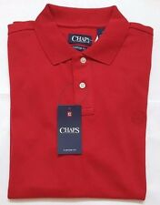 NWT CHAPS BY RALPH LAUREN MENS SOFT TOUCH POLO SHIRTS CUSTOM FIT S,M,L,XL&XXL