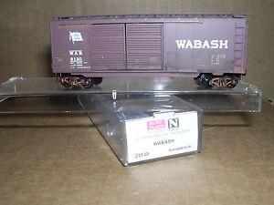 "Micro Trains #23130  Wabash 40' D.D.Box Car #8130 ""N.Gauge"""