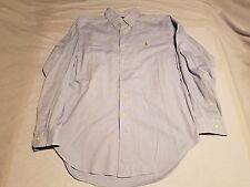 Vintage Ralph Lauren Classic Fit Button Down Men's Shirt Size 15 1/2