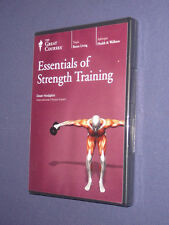 Teaching Co Great Courses  DVD      ESSENTIALS of STRENGTH TRAINING   new sealed