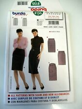 BURDA #8155 PATTERN, MISSES SKIRTS VERY EASY LEVEL 1 UNCUT FF, FREE SHIPPING IN