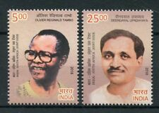 India 2018 MNH Diplomatic Relations JIS South Africa Oliver Tambo 2v Set Stamps