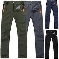 Heavy Duty Mens Climbing Casual Zipper Cargo Combat Work Pants Tactical Trousers