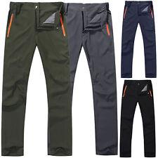 Mens Tactical Combat Cargo Pants Outdoor Hiking Climbing Casual Trousers Bottoms