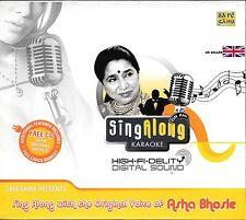 Asha Bhosle - Sing Along KARAOKE - Neuf BOLLYWOOD bande sonore