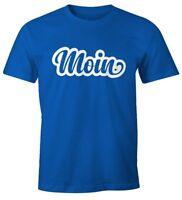 Moin Herren T-Shirt Fun-Shirt Moonworks®