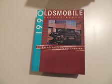 Oldsmobile Cutlass Ciera / Cruiser 1990 shop service manual Werkstatthandbuch