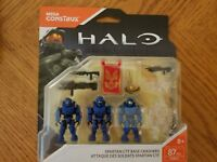 Mega Contrux Halo Spartan CTF Base Crashers #FNR84 87 Pcs Set New Sealed