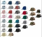 Richardson Trucker, Logo, camo, 112, Baseball Cap, Meshback Hat, Snapback Cap