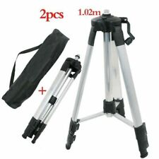 PORTABLE LASER LEVEL TRIPOD ADJUSTABLE HEIGHT THICKEN ALUMINUM ROTARY LASERS