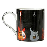 300ml Fine China Guitar Novelty Mug Coffee Tea Cup Music Lover Theme Gift Idea
