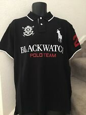 Polo Ralph Lauren Men's Custom Fit Mesh Polo Shirt Polo Black Size L Large