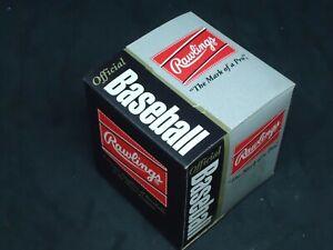 RAWLINGS 1993 World Series Baseball BLUE JAYS/PHILLIES Blank Ball Original Box
