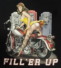 T-Shirt Biker Pin Up USA V8 Route66 RETRO VINTAGE HOTROD KUSTOM RETRO 293-15