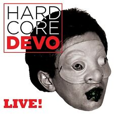 DEVO - HARDCORE LIVE!  CD  21 TRACKS  NEUF