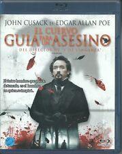 EL CUERVO  Guia Para Un Asesino-THE RAVEN- BLU-RAY+DVD, NEW