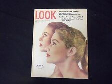 1948 JANUARY 6 LOOK MAGAZINE - GARY COOPER AD BACK COVER - ST 2772