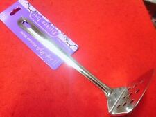 NEW MASHER Stainless Steel Slotted Turner Kitchen Cooking Tools MADE INDIA