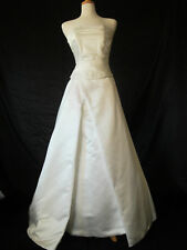 Three-Piece Corset Back Maggie Sottero Claire Wedding Gown Dress sz 12