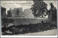 Dontrien France Frankreich CPA ~1914/18 AK Ruine gesprengte Kirche ruine èglise
