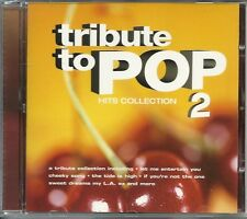 TRIBUTE TO POP VOLUME 2 HITS COLLECTION CD - THE TIDE IS HIGH & MORE