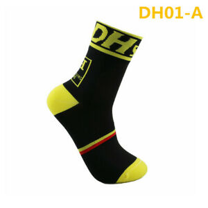 Pro Women Men Cycling Sport Ankle Socks XC Riding Bicycle Breathable Socks Green