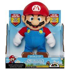 "Mundo de salto de Nintendo Super Mario Figura 10"" Jakks Marca Nuevo Gran Regalo Niños"
